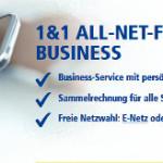 1&1 All-Net-Flat Business mit bis zu 15 % Rabatt für Geschäftskunden