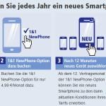 1und1 Newphone - Jedes Jahr neues Handy