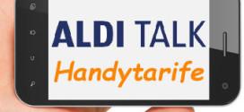 Aldi Talk Tarife