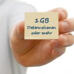 Allnet Flat Handyvertrag mit 1GB, 2GB, 5GB oder 10GB Highspeed-Datenvolumen