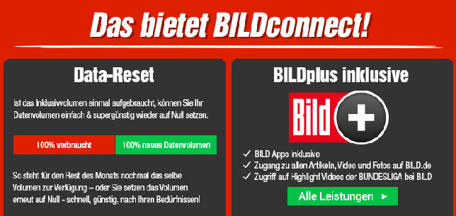 Bildconnect Data-Reset