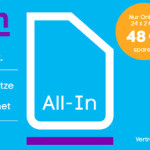 Blau All-in Allnet Flat 600 MB Datenvolumen