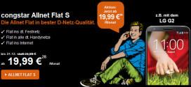 Congstar Allnet Flat Aktion 19,99 Euro