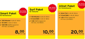 Congstar startet Prepaid Allnet Flat Paket im Telekom D1 Netz