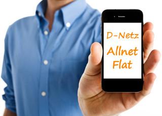 D-Netz Allnet Flat Vertrag