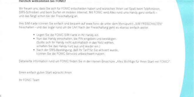 Fonic All Net Flat Im Test Erfahrungsbericht Zur Prepaid Karte Im O2 Netz