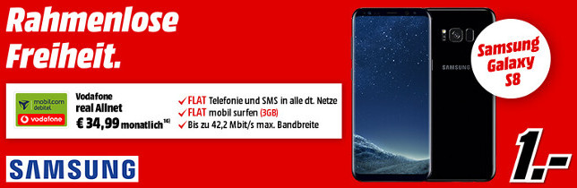Galaxy S8 Vertrag Media Markt