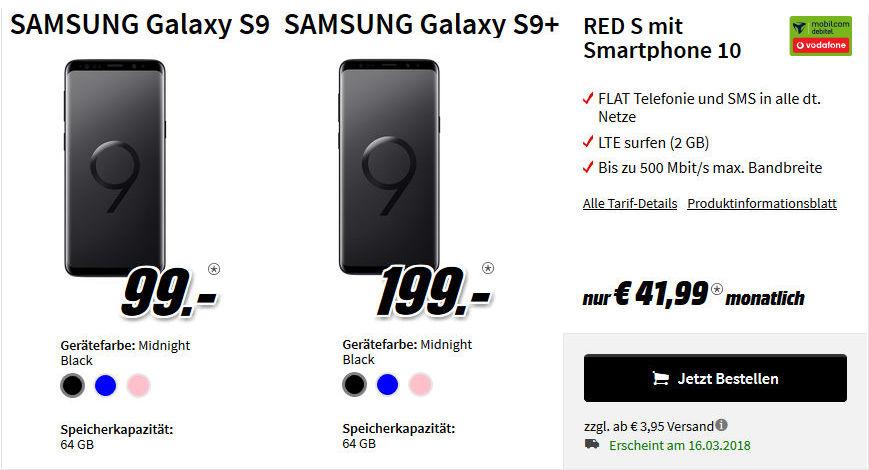 Galaxy S9 Allnet Flat