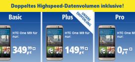 HTC One M9 1&1 Allnet Flat kostenlos