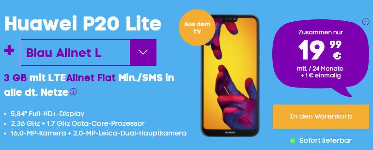 Huawei P20 Lite LTE Vertrag
