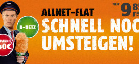Klarmobil Allnet Flat D1 Telekom Netz 9,85 €