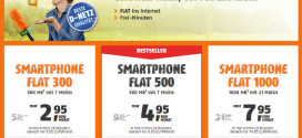 50% Rabatt – Klarmobil Smartphone Flat im Telekom Netz ab 2,95 €