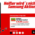 Saturn: Galaxy S7 Edge + Gear Fit 2 mit D2 Allnet Flat für 24,99 €