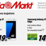 Saturn: Samsung Galaxy S7 mit 1GB D-Netz Allnet Flat für 19,99 €