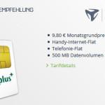 Mobilcom-Debitel Aktion Yourflat 9,80 Euro