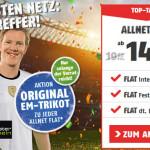 Klarmobil verschenkt Deutschland EM DFB Trikot zur Allnet Flat