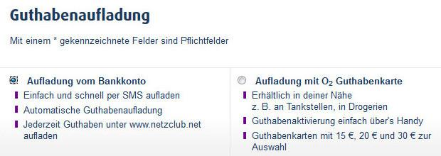 Netzclub Flat Buchen