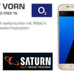 o2 Free M Vertrag mit Handy » Saturn Deal mit Galaxy S8 für 29,99 €