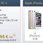 Premiumsim 1GB LTE Allnet Flat iPhone 6