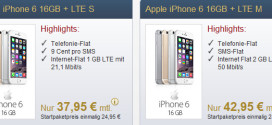 Premiumsim 1GB LTE Allnet Flat iPhone 6