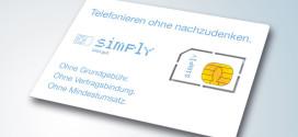 Simply LTE Allnet Flat Tarife ohne Vertragslaufzeit (Drillisch)