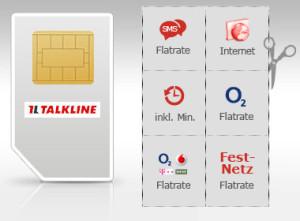 Talkline Flatrates in allen Netzen