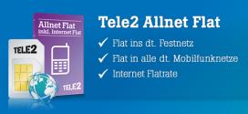Allnet Flat ohne Schufa: Tele2 Handyvertrag mit Kaution