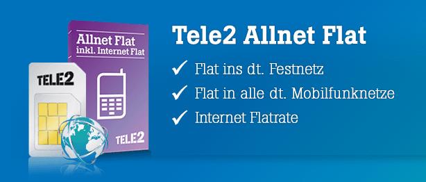 Tele2 Allnet Flat ohne Schufa