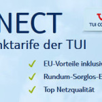 TUI Connect Handytarife S, M & L mit optionaler Allnet Flat im O2 Netz