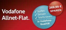 Vodafone Allnet-Flat Aktion