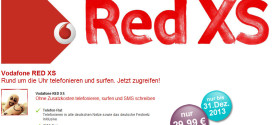 Vodafone RED XS Aktion